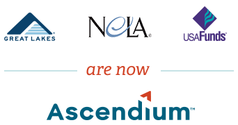 Great Lakes, Nela, and USA Funds are now Ascendium